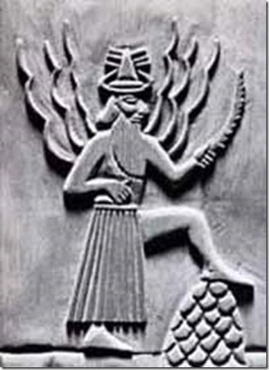 022-Shamash-Utu-dios sumerio