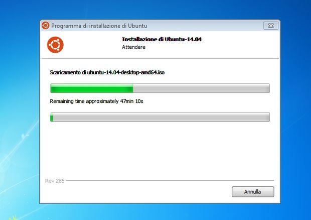 Wubi in Microsoft Windows / Download Ubuntu 14.04 Trusty LTS