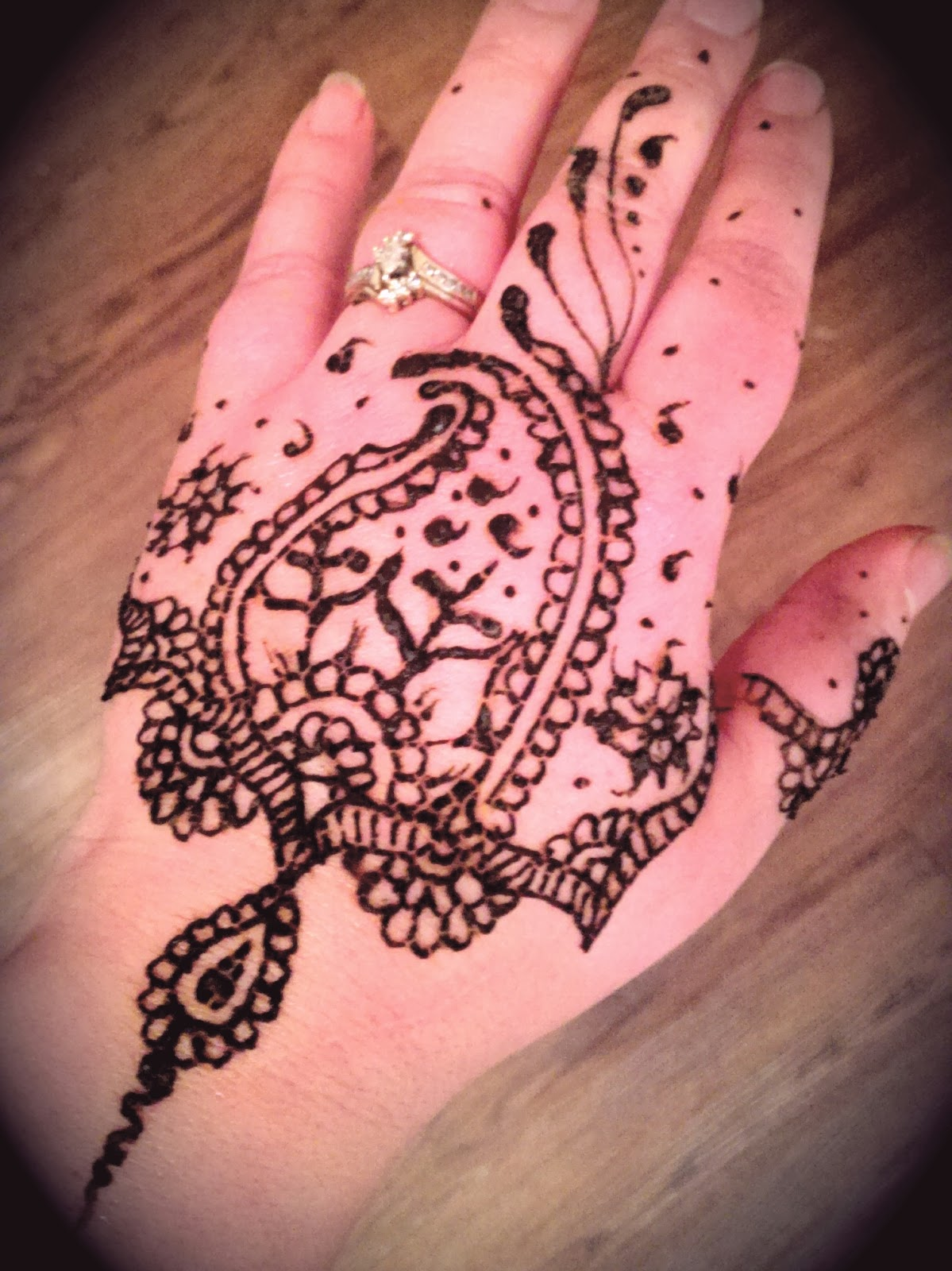 Henna Matching hand and foot designs - Uniquely Grace Designs