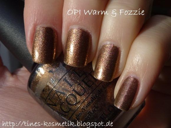 OPI Warm & Fozzie 3