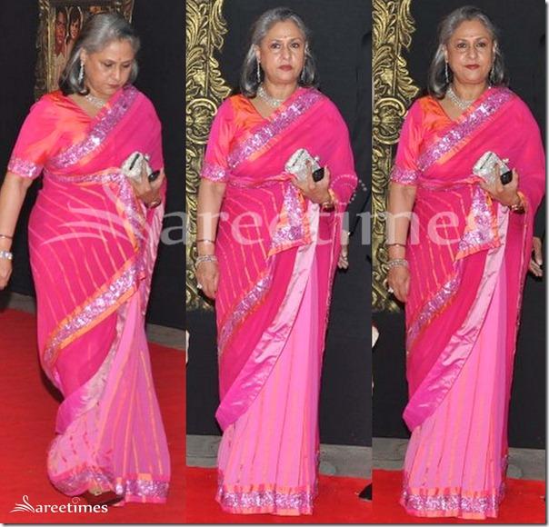 Jaya_Bachchan_Pink_Saree