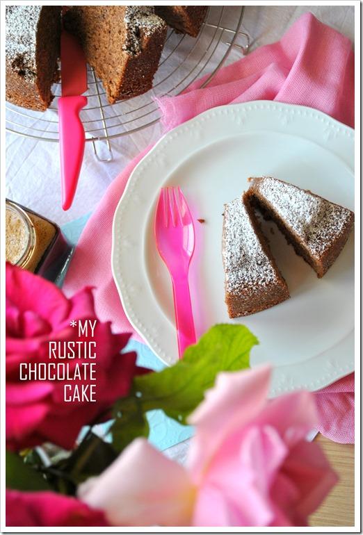 Απλό κέικ σοκολάτας