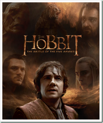 the_hobbit__battle_of_five_armies_poster_by_ladycyrenius-d7hrifh