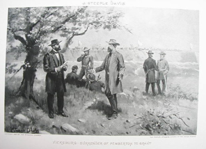 Surrender of Pemberton to Grant