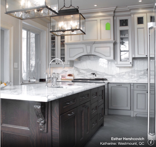 Blossoms Taupe and Greige and Grey Kitchens  Kitchen Trends 2015