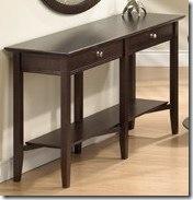 hall table 2 dr and shelf - Copy