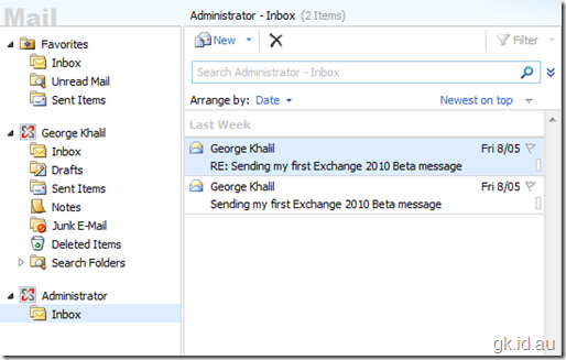 Exchange 2010 Beta, So what's new? – Part 3/3 exchange 2010 exchange