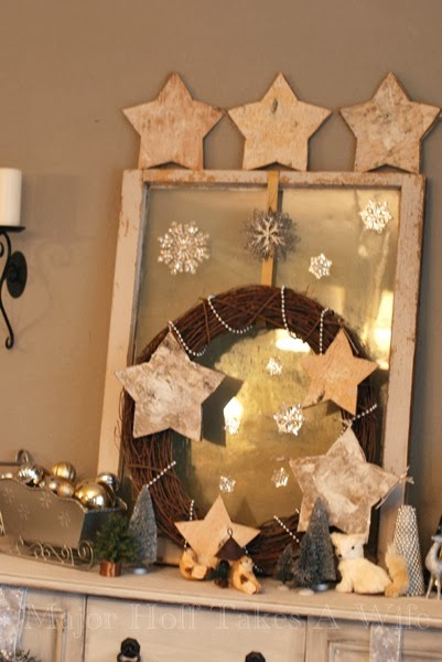 Buffet Silver And White Birch Stars
