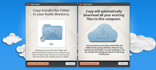 Copy client ufficiale su Ubuntu