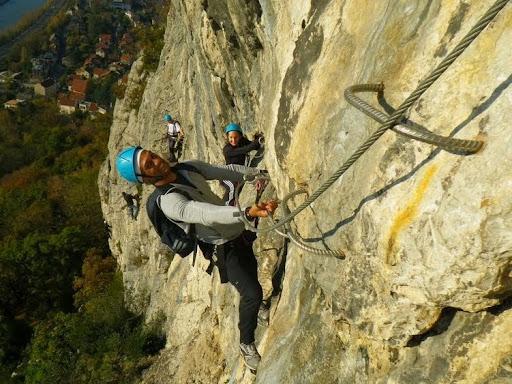Via ferrata de la Bastille, Massif de la Chartreuse, Grenoble