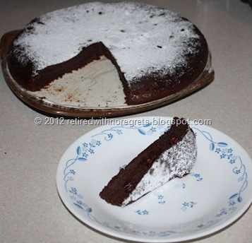 Chocolate Flour-less Condensed Milk Cake