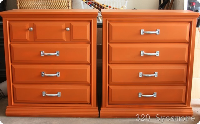 how to paint dressers
