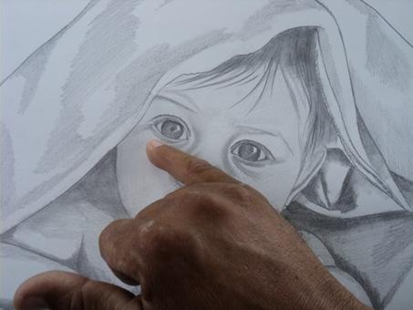 desenho de crianças a lápis 8