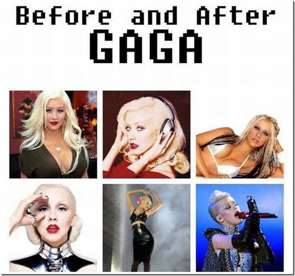 Antes e Depois Gaga (2)
