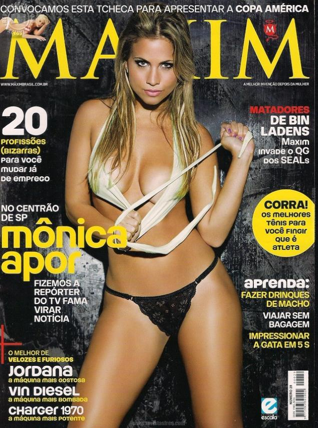 Monica Apor Revista Maxim Junio 2011