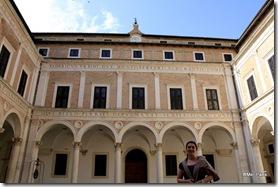 Pátio interior do Palazzo Ducale. No interior não é permitido fotografar...