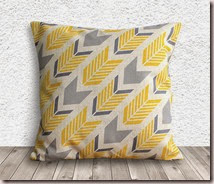 Pillow Cover Printed Geometric