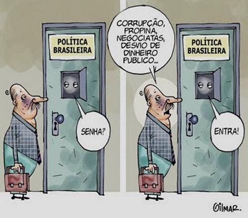 enquanto isso na politica brasileira