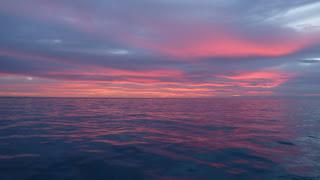Wieder ein Sonnenaufgang in Minerva Nord.