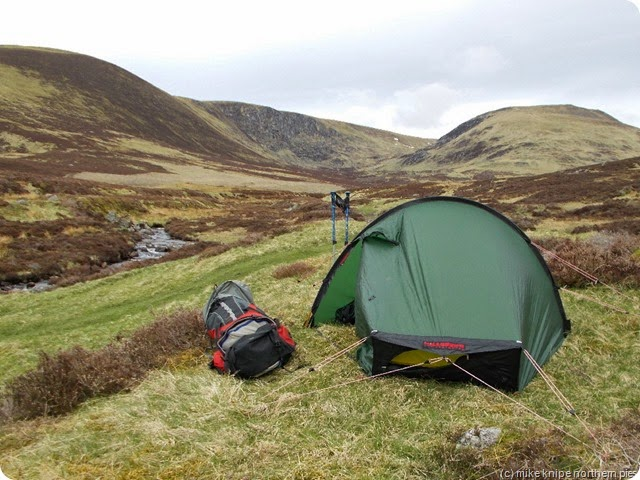 camping in the angus glens