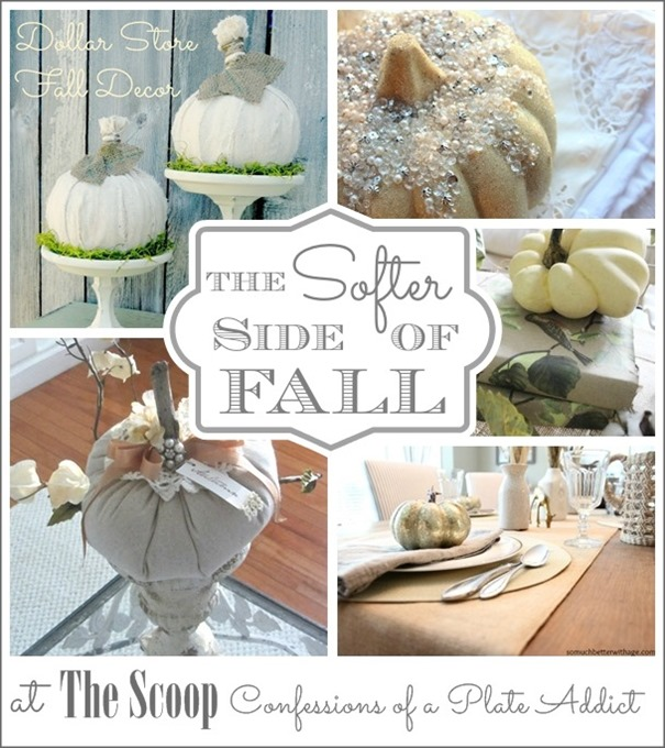 CONFESSIONS OF A PLATE ADDICT The Softer Side of Fall