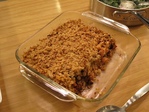 Apple Cherry Cobbler