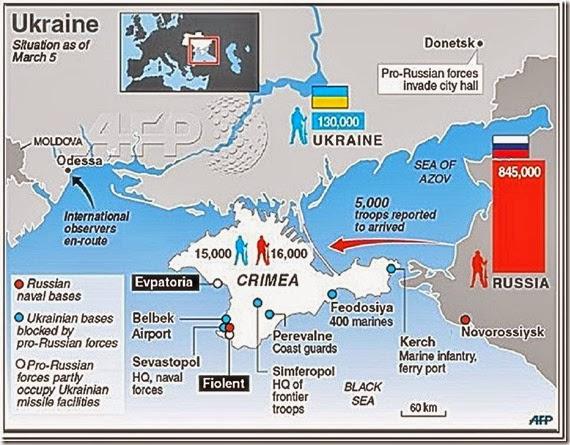 Ukraine-Russia crisis as of 3-5-14