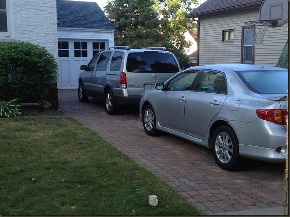2013 Week 31: We Have a Driveway!