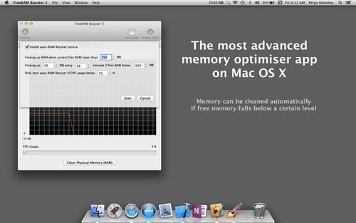 FreeRAM Booster 2 mac