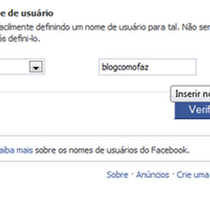 Como personalizar o endereço da sua página no Facebook