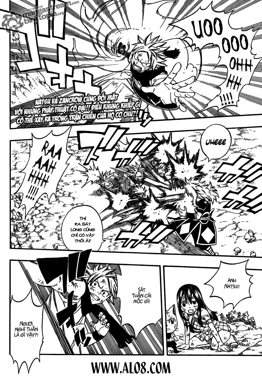 Fairy Tail Chapter 218 Tiếng Việt - Lửa Rồng Vs. Lửa Thần 002