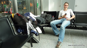 Geschafft.... Abflug am Frankfurter Flughafen.