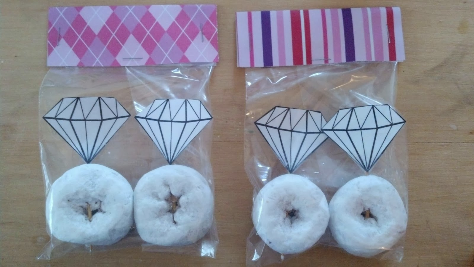 Cupcakes By Clever Engagement Ring Powdered Donuts