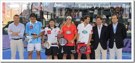 Díaz y Belasteguín campeones ante Gutiérrez y Poggi en el Bwin PPT Ciudad Raqueta 2012.