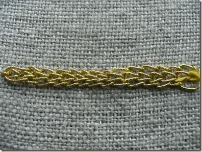 braided chain horizontal