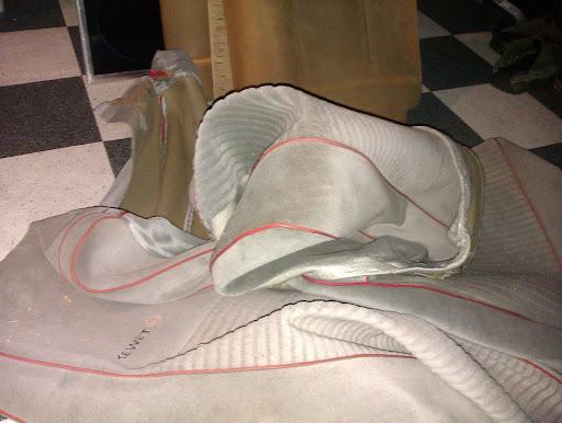 sæder kewet rensning af sæder ompolstring af kewet sæder  interior og gejl