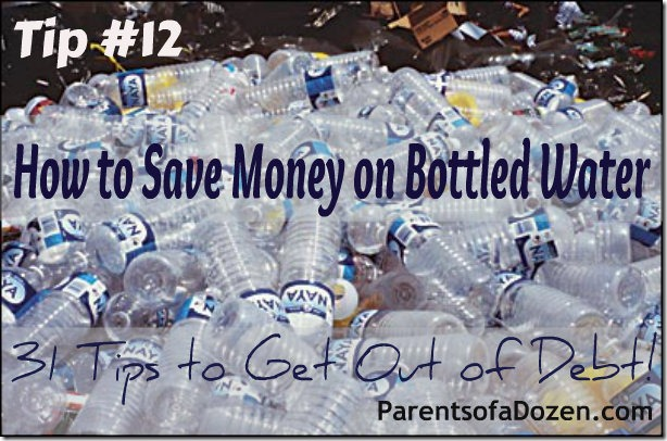 How to save money on bottled water