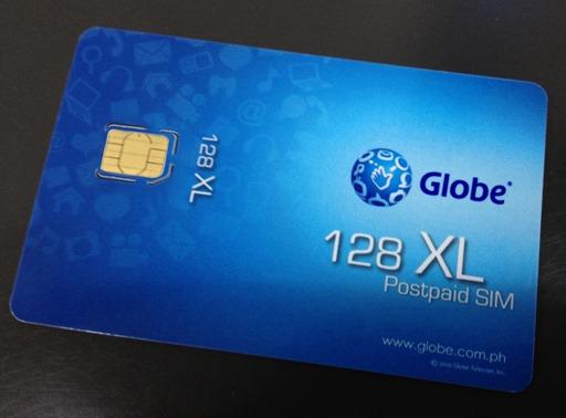 Globe Nano SIM Card