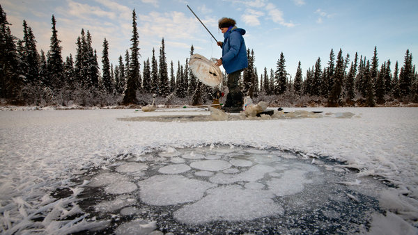 Katey M. Walter Anthony, a scientist, investigated a plume of methane, a greenhouse gas, at an Alaskan lake. Dr. Walter Anthony is a leading researcher in studying the escape of methane. Josh Haner / The New York Times