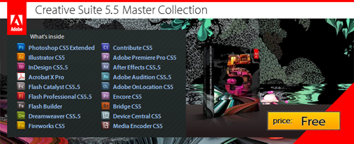 Adobe CS5.5 Master Collection Free