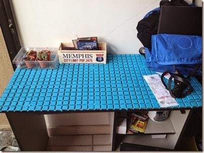 multipurpose anti-slip floor mat as table mat