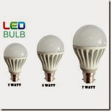 Buy Combo of 3W, 5W, 7W Led Bulbs(Set of 3 Bulbs) at Rs. 199 only