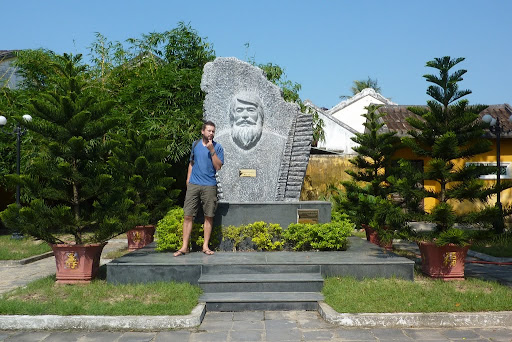 Polish architect Kazimierz Kwiatkowsky, Kazik, came to Hoi An in the 1980s as part of Vietnam's conservation project and helped make the town the beautifully restored scene it is today. He also has a better beard.