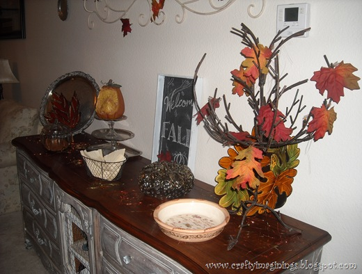 Fall Buffet Decor 2