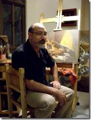 dario ortiz pintor colombiano obra expuesta museo de arte contemporaneo del huila IMGP5993