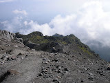 The trail back down Merapi to New Selo (Daniel Quinn, October 2011)