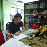 サラワク統計局図書室での資料収集