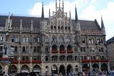 The New Town Hall (Neues Rathaus) in Marienplatz, Munich