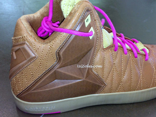 First Images  Nike LeBron XI NSW Lifestyle Brown amp Pink