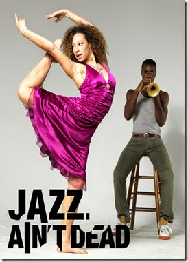 Jazz Aint Dead Icon Poster with Logo